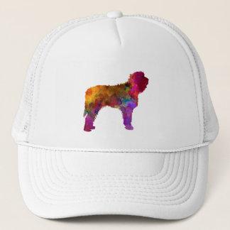 Otterhound in watercolor trucker hat