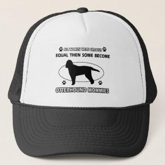 Otterhound Mommy Designs Trucker Hat