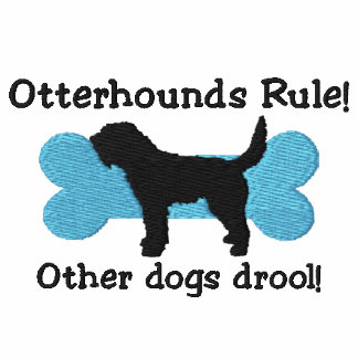 Otterhounds Rule Embroidered T-Shirt