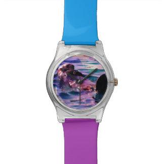 otterly perfect multi colored wristwatch