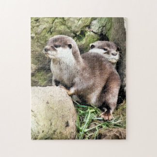 OTTERS JIGSAW PUZZLE