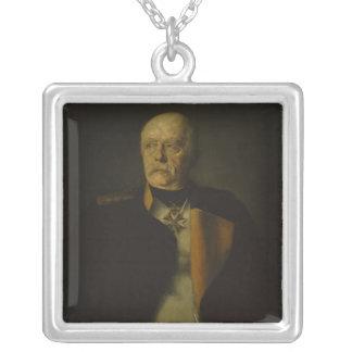 Otto von Bismarck, c.1890 Silver Plated Necklace
