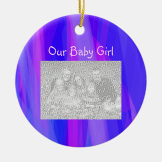 Our Baby Girl Christmas Ornament