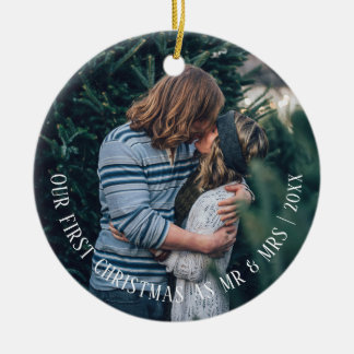 Our First Christmas Personalised Christmas Ornament