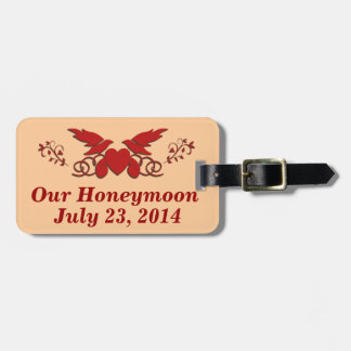 Our Honeymoon Bag Tag