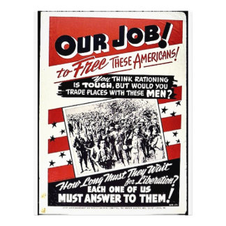 Our Job To Free These Americans, Each One Of Us Mu Custom Flyer
