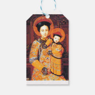 Our Lady of China (中华圣母, 中華聖母) Chinese Virgin Mary Gift Tags