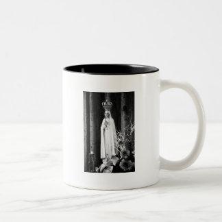 Our Lady of Fatima Two-Tone Coffee Mug