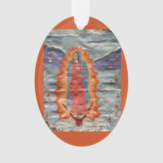 Our Lady of Guadalupe (Papyrus Version) Ornament
