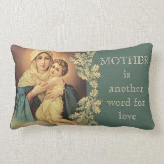 Our Lady of Schoenstatt Virgin Mary Jesus MOTHER Lumbar Cushion