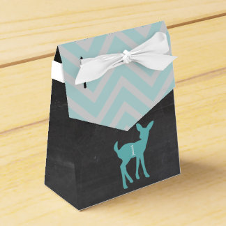 Our Little Buck Is Turning ONE Favor Boxes Wedding Favour Box