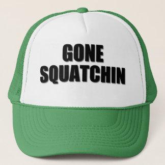 Our very best seller Bobo's GONE SQUATCHIN Trucker Hat
