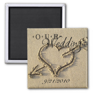Our Wedding Magnet