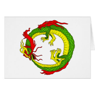 Ouroboros Dragon Card
