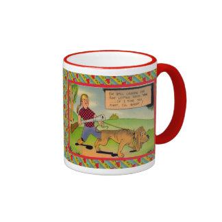 Out hunting ringer mug