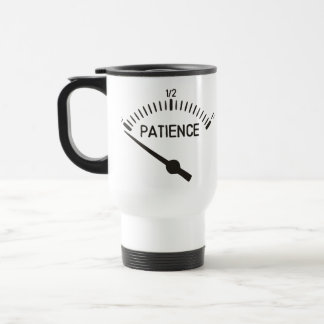 Out of Patience Gas Gauge Travel Mug
