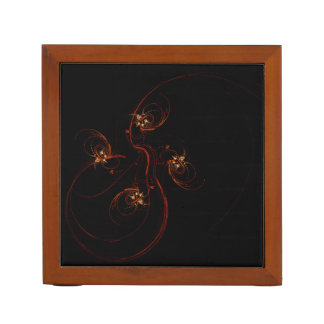 Out of the Dark Abstract Art Desk Organiser