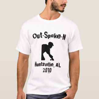 Out-Spoke-N Mountain Biking T-Shirt