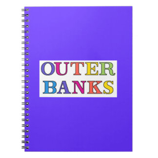 Outer Banks NC Colors Notebook