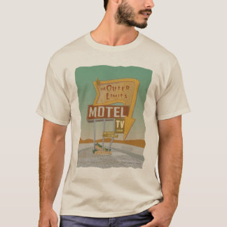 Outer Limits Motel-from Route 66 Memories T-Shirt