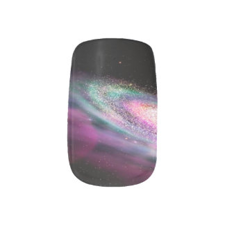 Outer Space Minx Nail Art