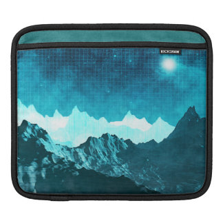 Outer Space Mountains Sleeve For iPads