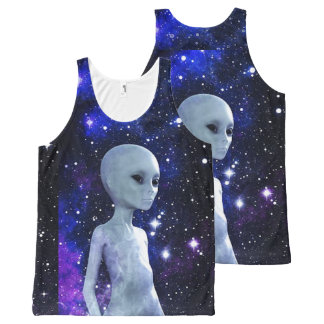 Outerspace Unisex Tank Top All-Over Print Tank Top