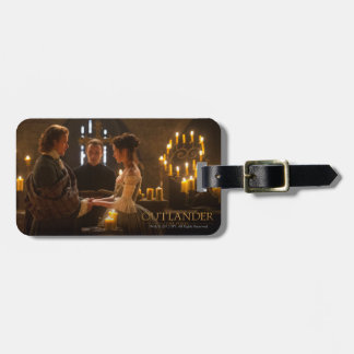 Outlander | Jamie & Claire's Wedding Bag Tag