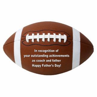 Outstanding Achievement Football Ornament Photo Sculpture Decoration