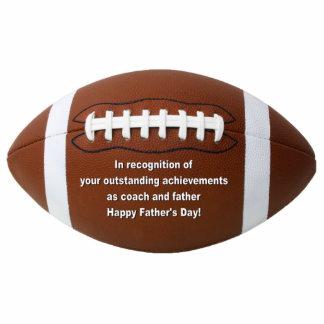 Outstanding Achievement Football Pin Photo Sculpture Badge