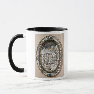 Oval dish mug