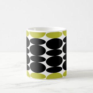 Oval Pattern Coffee Mug