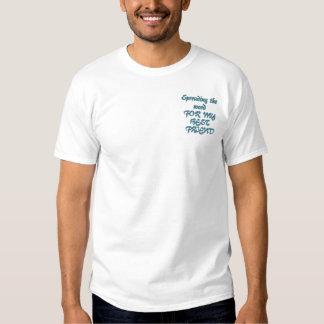 Ovarian Cancer Awareness - Customized Embroidered T-Shirt