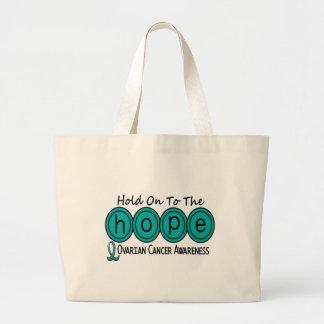 Ovarian Cancer HOPE 6 Jumbo Tote Bag