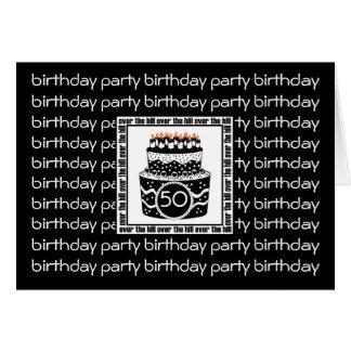 Over The Hill Birthday Invite