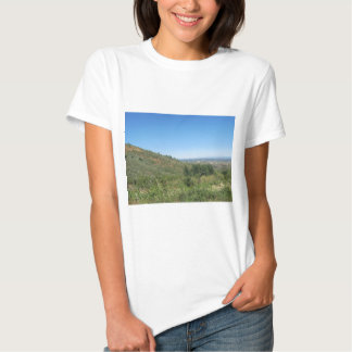 Over the hills t shirt