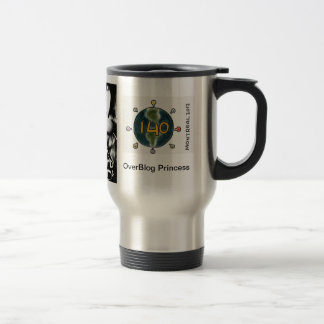 OverBlog Princess 140 World (Stainless Travel) 15 Oz Stainless Steel Travel Mug