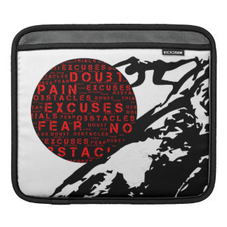 Overcome all Obstacles iPad Sleeve