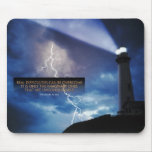 Overcome Difficulties Inspirational Mouse Pad