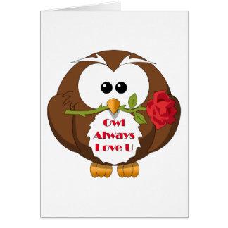 Owl Always Love You Theme Card