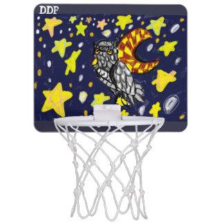 Owl art  two mini basketball hoop