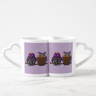 Owl Attraction Couples Mug