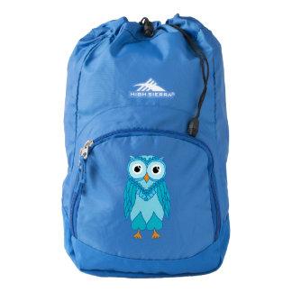 Owl Backpack: Blue Owl Backpack