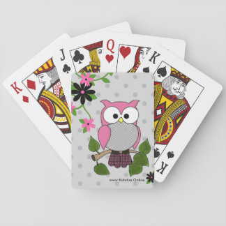 Owl Be Seeing You! Poker Deck