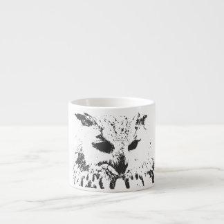 Owl Bone China Espresso Cup