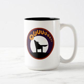 OWL BOO - Lobo Two-Tone Coffee Mug