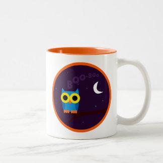OWL BOO - Owl Two-Tone Mug