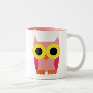 OWL BOO Two-Tone MUG
