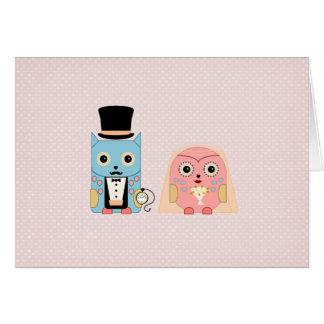 Owl Couple Card