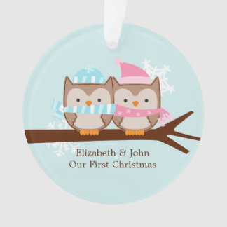 Owl Couple Custom Christmas